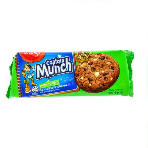کوکی Captain Munch فندقی